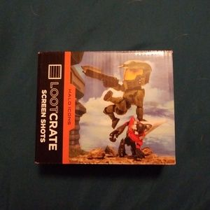 Loot crate Halo collectable